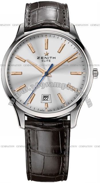Zenith Elite Captain Central Second Mens Wristwatch 03.2020.670-01.C498