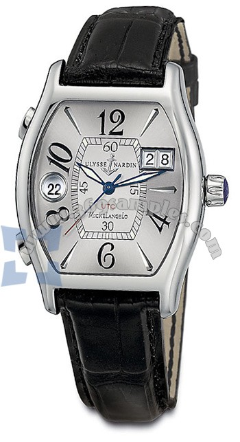 Ulysse Nardin Michelangelo UTC Dual Time Mens Wristwatch 223-68-582