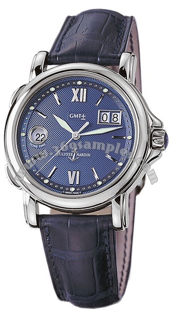 Ulysse Nardin GMT +- Big Date Mens Wristwatch 223-88.383