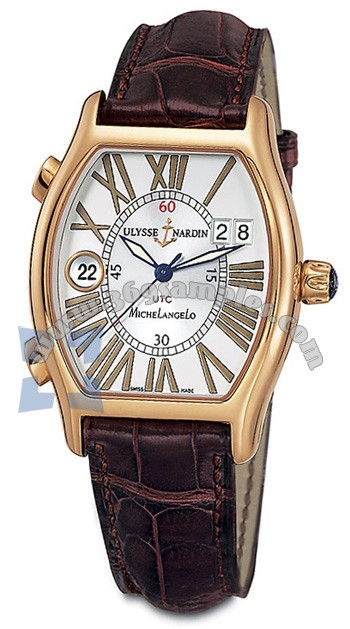 Ulysse Nardin Michelangelo UTC Dual Time Mens Wristwatch 226-68-41