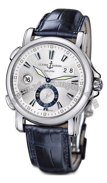 Ulysse Nardin Dual Time 42 mm Mens Wristwatch 243-55-91
