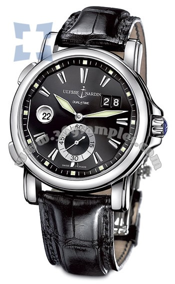 Ulysse Nardin Dual Time 42 mm Mens Wristwatch 243-55-92