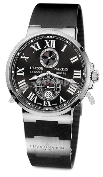 Ulysse Nardin Maxi Marine Chronometer 43mm Mens Wristwatch 263-67-3-42