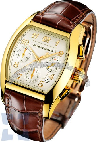 Girard-Perregaux Richeville Mens Wristwatch 27650-0-51-1151