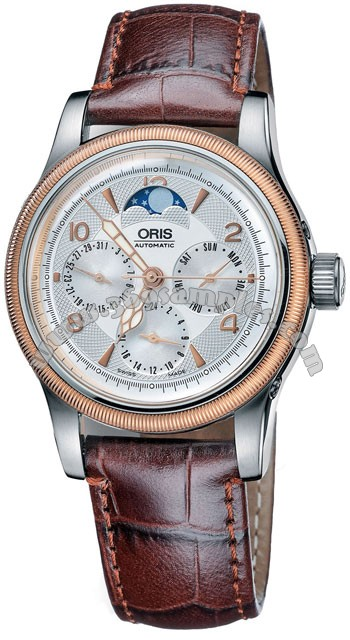 Oris Big Crown Complication Mens Wristwatch 581.7566.43.61.LS