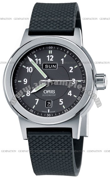 Oris BC3 Day Date Mens Wristwatch 635.7534.4164.RS
