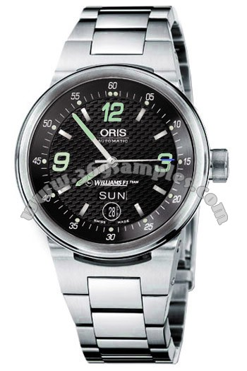 Oris WilliamsF1 Team Day Date Mens Wristwatch 635.7560.41.64.MB