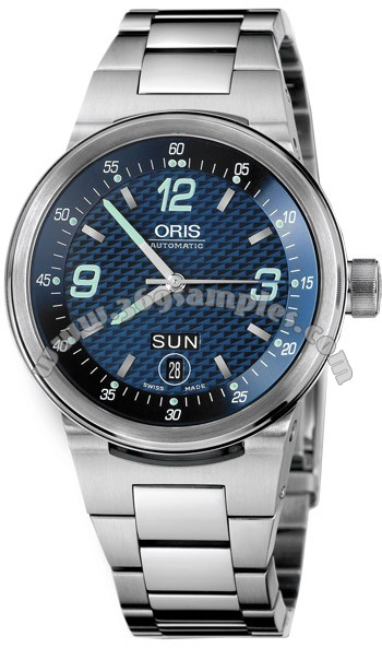 Oris WilliamsF1 Team Day Date Mens Wristwatch 635.7560.41.65.MB