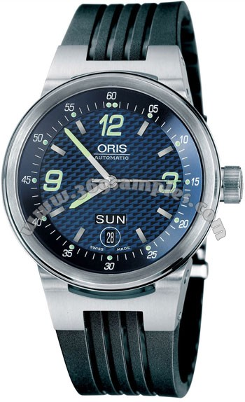 Oris WilliamsF1 Team Day Date Mens Wristwatch 635.7560.41.65.RS