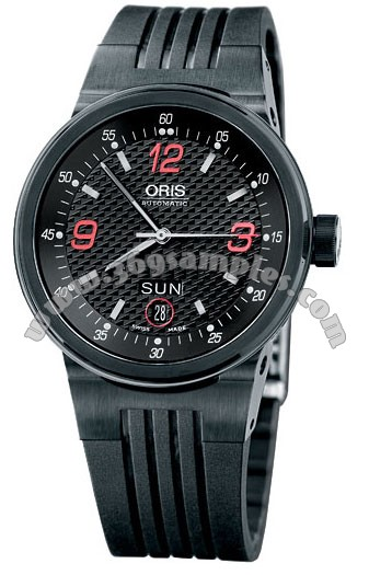 Oris WilliamsF1 Team Day Date Mens Wristwatch 635.7560.47.48.RS