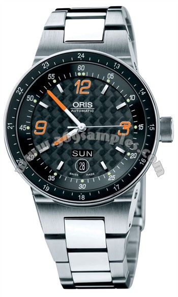 Oris WilliamsF1 Team Day Date Mens Wristwatch 635.7595.41.94.MB