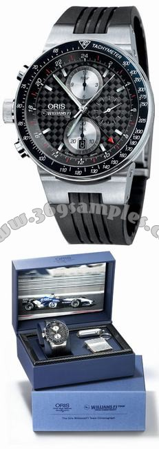 Oris WilliamsF1 Team Lefty Limited Mens Wristwatch 677.7577.70.54.RS