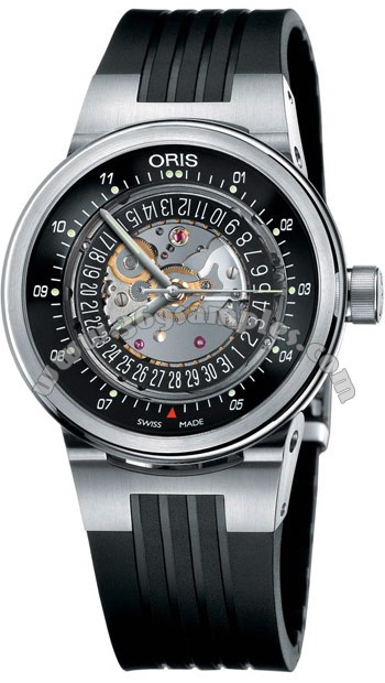 Oris TT2 WilliamsF1 Team Skeleton Engine Mens Wristwatch 733.7560.41.14.RS