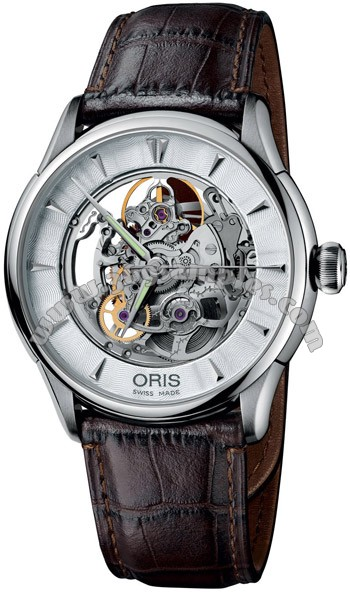 Oris Artelier Mens Wristwatch 734.7591.40.51.LS