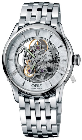 Oris Artelier Mens Wristwatch 734.7591.40.51.MB