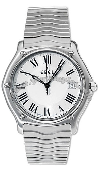 Ebel Classic Wave Mens Wristwatch 9187151.20125