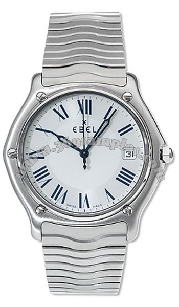 Ebel Classic Wave Mens Wristwatch 9187151.26125