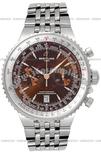 Breitling Montbrillant Legende Mens Wristwatch A2334021.Q548-SS