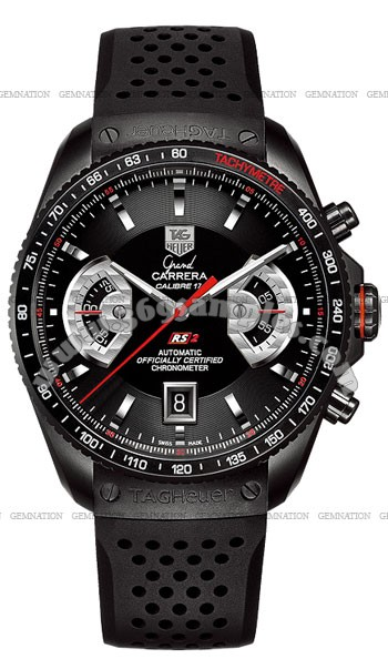 Tag Heuer Grand Carrera Chronograph Calibre 17 RS 2 Mens Wristwatch CAV518B.FT6016