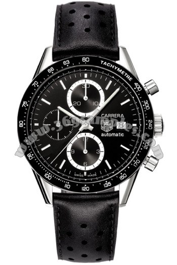 Tag Heuer Carrera Automatic Chronograph Mens Wristwatch CV2010.FC6205