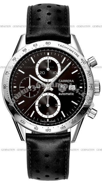 Tag Heuer Carrera Automatic Chronograph Mens Wristwatch CV2016.FC6233