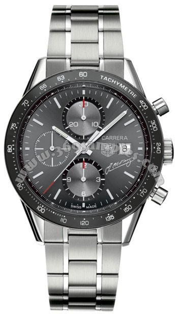 Tag Heuer Carrera Automatic Chronograph Mens Wristwatch CV201C.BA0786