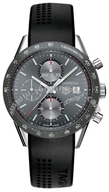 Tag Heuer Carrera Automatic Chronograph Mens Wristwatch CV201C.FT6007