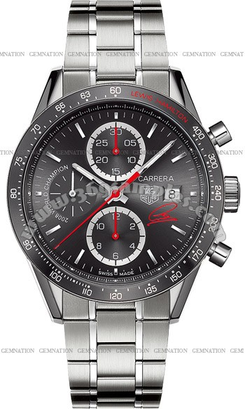 Tag Heuer Carrera Automatic Chronograph Mens Wristwatch CV201M.BA0794