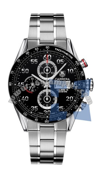 Tag Heuer Carrera Automatic Chronograph Mens Wristwatch CV2A10.BA0796