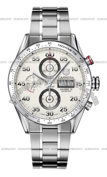 Tag Heuer Carrera Automatic Chronograph Mens Wristwatch CV2A11.BA0796