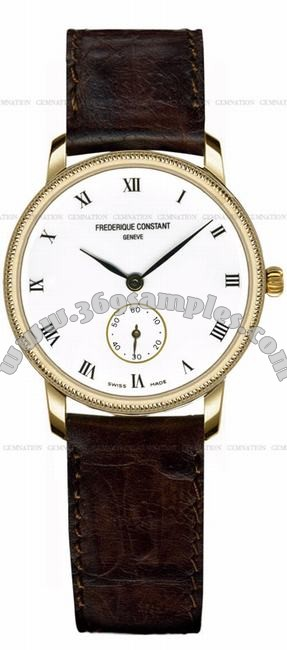 Frederique Constant Classics Quartz Small Second Unisex Wristwatch FC-235E75