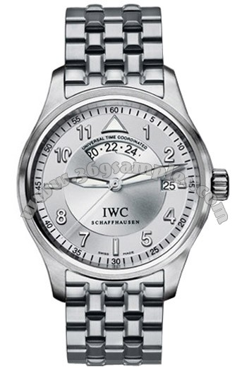 IWC Pilots Watch Spitfire UTC Mens Wristwatch IW325108