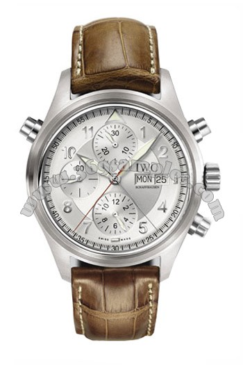 IWC Spitfire Double Chronograph Mens Wristwatch IW371343
