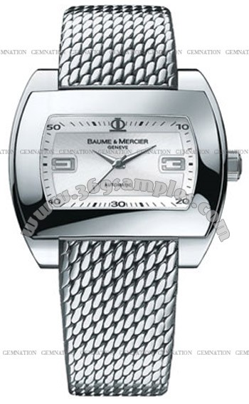 Baume & Mercier Hampton Mens Wristwatch MOA08340