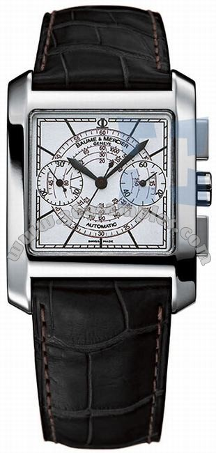 Baume & Mercier Hampton Square Mens Wristwatch MOA08607