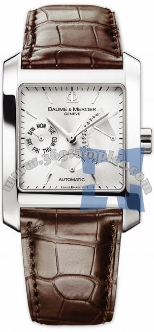 Baume & Mercier Hampton Square Mens Wristwatch MOA08757