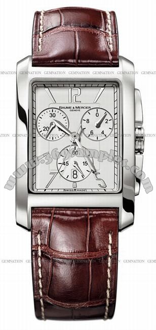 Baume & Mercier Hampton Classic XL Chronograph Mens Wristwatch MOA08823