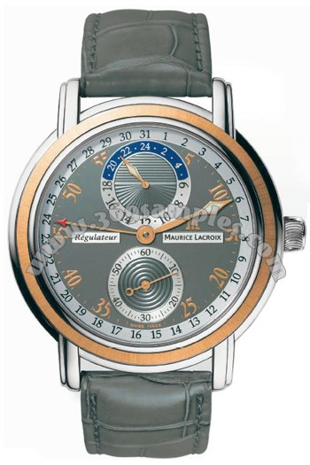 Maurice Lacroix Masterpiece Regulator Mens Wristwatch MP6148-PS101-220