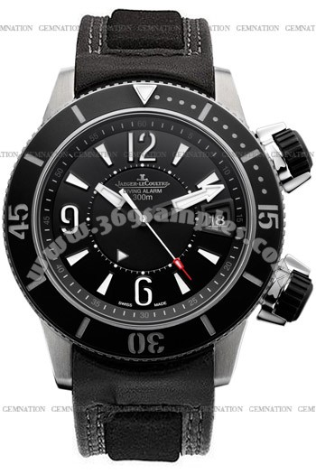 Jaeger-LeCoultre Master Compressor Diving Alarm Navy SEALs Mens Wristwatch Q183T470
