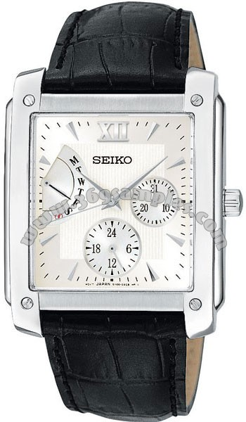 Seiko  Mens Wristwatch SNT007