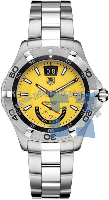 Tag Heuer Aquaracer Quartz Grand-Date 41mm Mens Wristwatch WAF1012.BA0822