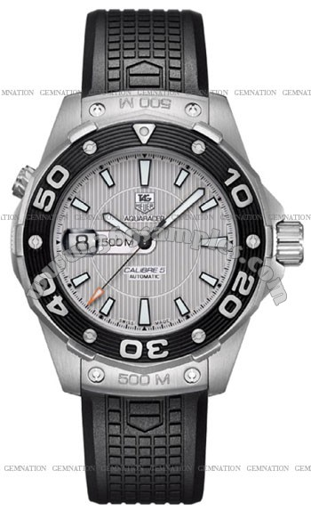 Tag Heuer Aquaracer 500M Calibre 5 Mens Wristwatch WAJ2111.FT6015