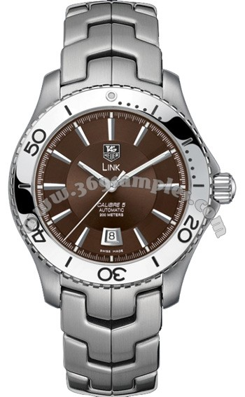 Tag Heuer Link Automatic Mens Wristwatch WJ201D.BA0591