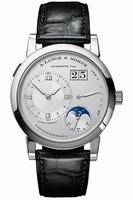 Replica A Lange & Sohne Lange 1 Moonphase Mens Wristwatch 109.025