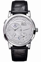Replica A Lange & Sohne Lange 1 Time Zone Mens Wristwatch 116.025