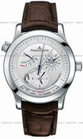 Replica Jaeger-LeCoultre Master Geographic Mens Wristwatch 150.84.20