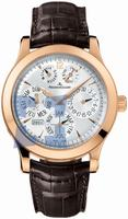 Replica Jaeger-LeCoultre Master Eight Days Perpetual Mens Wristwatch 161.24.2a