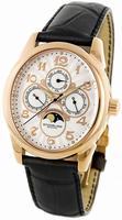 Replica Stuhrling Aviator Calender Mens Wristwatch 173L.33452