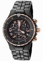 Replica Technomarine TechnoDiamond Ceramique Womens Wristwatch 208018