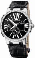 Replica Ulysse Nardin Executive Dual Time Mens Wristwatch 243-00B-42